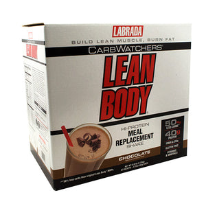 Labrada Nutrition Carb Watchers Lean Body CarbWatchers Chocolate - Gluten Free