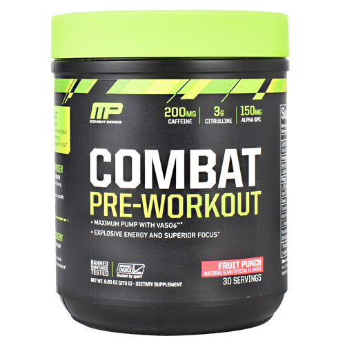 MusclePharm Combat Series Combat Pre-Workout Blue Raspberry