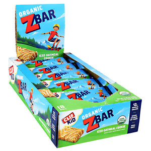 Clif Bar Kid Oragnic ZBar Iced Oatmeal Cookies