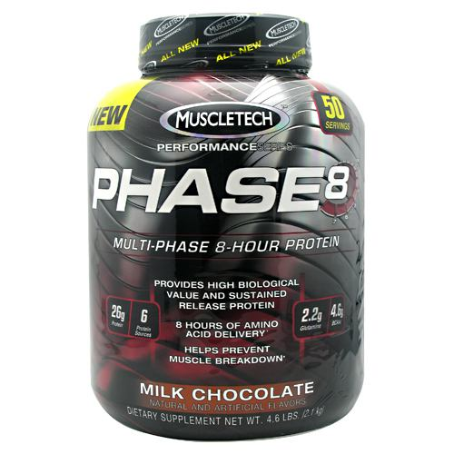 Muscletech Performance Series Phase 8 Milk Chocolate