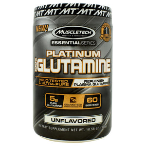 Muscletech Essential Series 100% Platinum Glutamine Unflavored