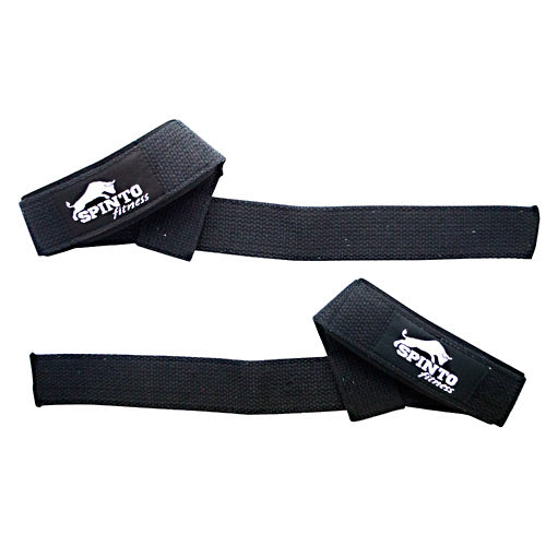 Spinto USA, LLC Padded Wrist Straps Black Cotton