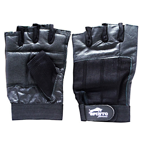 Spinto USA, LLC Men's Workout Gloves Black (LG)