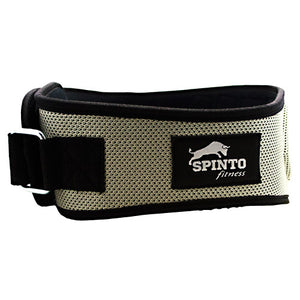 Spinto USA, LLC Foam Core Lifting Belt Silver