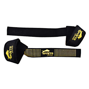 Spinto USA, LLC Silicone Lift Straps Black