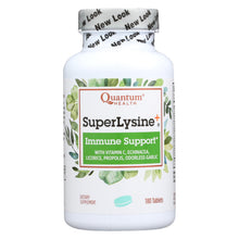 Load image into Gallery viewer, Quantum Super Lysine Plus Immune System - 180 Tablets