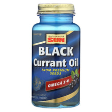 Load image into Gallery viewer, Health From The Sun Black Currant Oil - 1000 Mg - 30 Softgels