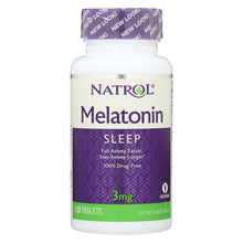 Load image into Gallery viewer, Natrol Melatonin - 3 Mg - 120 Tablets
