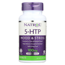 Load image into Gallery viewer, Natrol 5-htp Tr Time Release - 100 Mg - 45 Tablets
