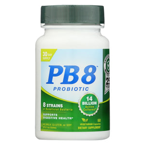 Nutrition Now Pb 8 Pro-biotic Acidophilus For Life - 500 Mg - 60 Vegetarian Capsules