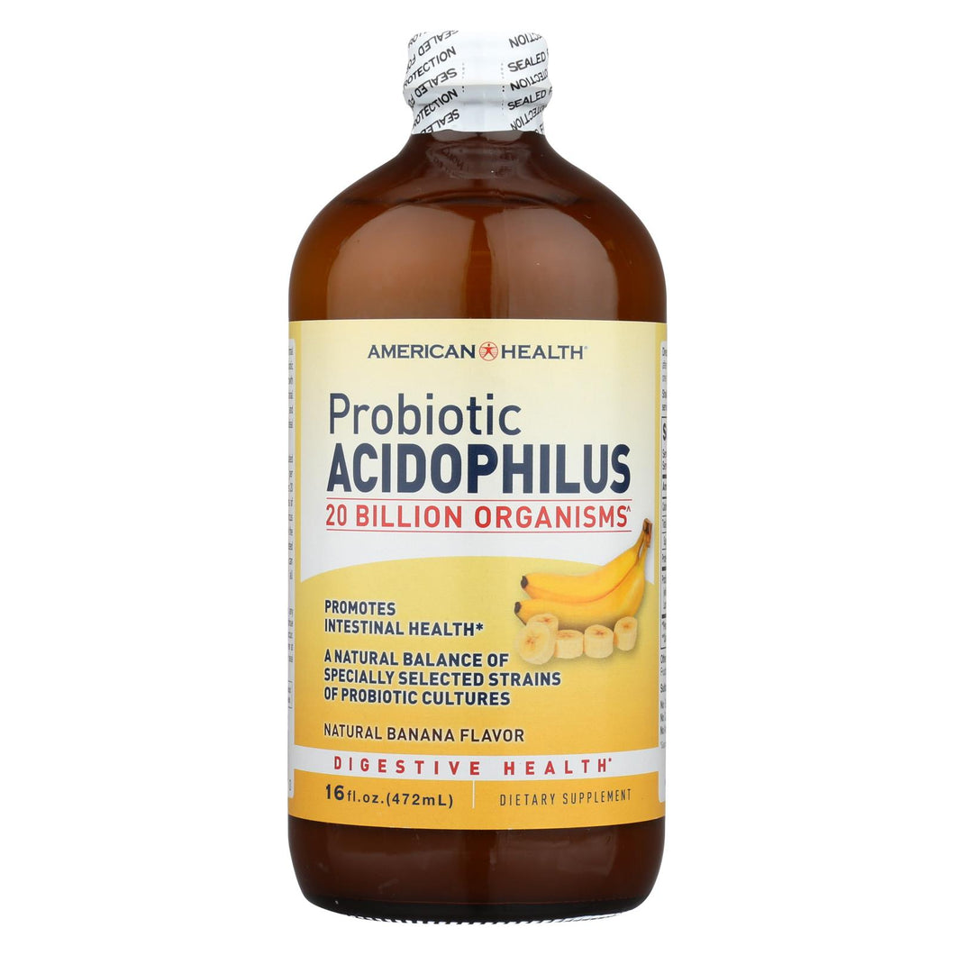 American Health - Probiotic Acidophilus Banana - 16 Fl Oz