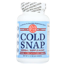 Load image into Gallery viewer, Ohco Cold Snap Caps - 120 Capsules