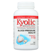 Load image into Gallery viewer, Kyolic - Aged Garlic Extract Blood Pressure Health Formula 109 - 160 Capsules