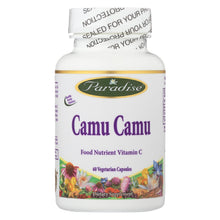 Load image into Gallery viewer, Paradise Herbs Camu Camu - 60 Vegetable Capsules