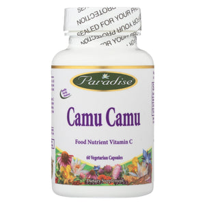 Paradise Herbs Camu Camu - 60 Vegetable Capsules