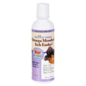 Ark Naturals Royal Coat Express Omega Minder Itch Ender - 8 Fl Oz