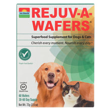 Load image into Gallery viewer, Sun Chlorella Rejuv-a-wafers Superfood Supplement For Dogs And Cats - 60 Wafers