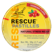 Load image into Gallery viewer, Bach Rescue Remedy Pastilles - Cranberry - 50 Grm - Case Of 12