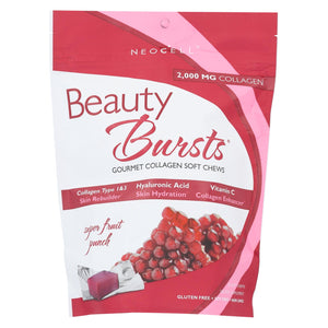 Neocell Laboratories Beauty Burst - Fruit Punch - 60 Chews
