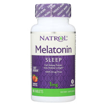 Load image into Gallery viewer, Natrol Fast Dissolving Melatonin - 1 Mg - 90 Tabs