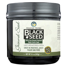 Load image into Gallery viewer, Amazing Herbs - Black Seed Ground Seed - 16 Oz