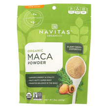 Load image into Gallery viewer, Navitas Naturals Maca Powder - Organic - 8 Oz - Case Of 12