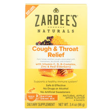 Load image into Gallery viewer, Zarbee's Cough And Throat Relief Drink Mix - Daytime Supplement - 6 Packets