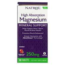 Load image into Gallery viewer, Natrol Magnesium - High Absorption - 60 Tablets
