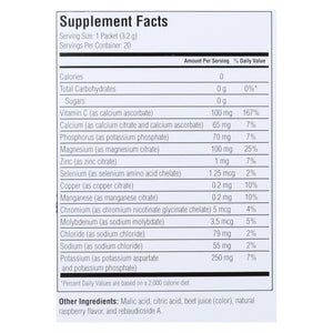 Ultima Replenisher Electrolyte Powder - Raspberry - 20 Count