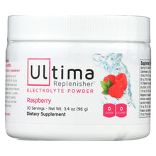 Load image into Gallery viewer, Ultima Replenisher Electrolyte Powder - Raspberry - Can - 3.4 Oz