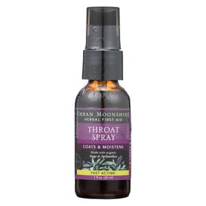 Urban Moonshine - Throat Spray - 1 Fl Oz.