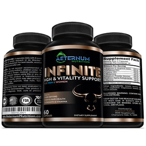Aeternum  - Infinite HGH Support - 4x2 inch, .20 lbs.