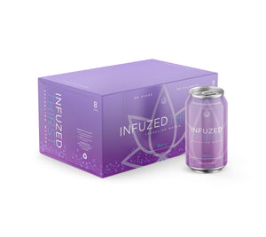 INFUZED THIRST - BERRY - CASE OF 8 - 12OZ