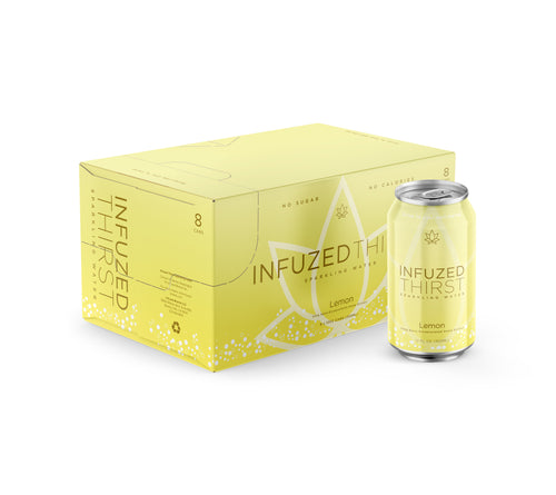 INFUZED THIRST - LEMON - CASE OF 8 - 12OZ