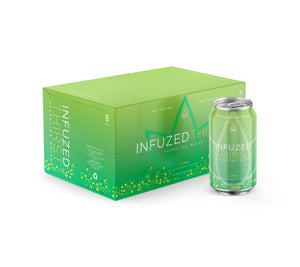 INFUZED THIRST - LIME - CASE OF 8 - 12OZ