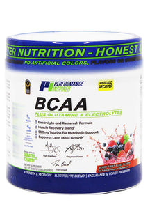 PERFORMANCE INSPIRED NUTRITION - BCAA Post-Workout Berry Fruit Blast, 25.6Oz