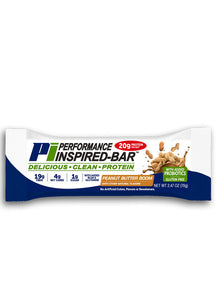 PERFORMANCE INSPIRED NUTRITION - Inspired Bar - Peanut Butter Boom - Box of 12, 35.2 Oz