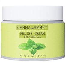 Load image into Gallery viewer, Canna Hemp - Relief Cream - 2oz (56.7g)