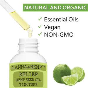 Canna Hemp - Relief Elixir - 1 Fl Oz (30mL)
