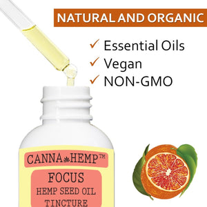 Canna Hemp - Focus Elixir - 1 Fl Oz (30mL)