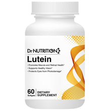 Load image into Gallery viewer, Dr Nutrition 360 - Lutein 10mg - 60 Softgels