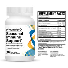 Load image into Gallery viewer, Dr Nutrition 360 - Seasonal Immune Support - 90 Capsules