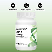 Load image into Gallery viewer, Dr Nutrition 360 - Zinc 25mg - 90 Capsules