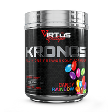 Load image into Gallery viewer, Virtus Nutrition - Kronos™ All-In-One Pre-Workout - Candy Rainbow - 255g (9oz)
