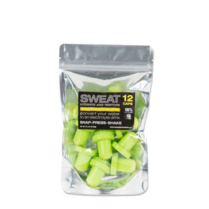 ADVANCED GOLF NUTRITION - SWEAT Lemon 12 PACK - 8 x 5 x 2 or 3.3g