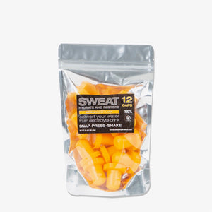 ADVANCED GOLF NUTRITION -  SWEAT MANGO 12 PACK - 8 x 5 x 2 or 3.3g