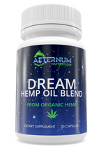 Load image into Gallery viewer, Aeternum Nutrition - Dream Hemp Oil Blend - 250MG - 30 Capsules