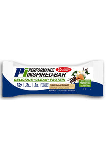 PERFORMANCE INSPIRED NUTRITION - Inspired Bar - Vanilla Almond - Box of 12, 35.2oz