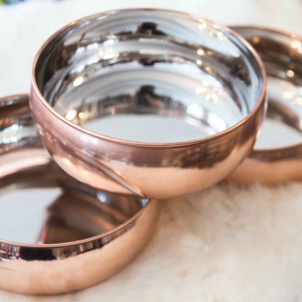 Sirius Hounds Brass plated bowl // Sirius Hounds Messingbelagt skål