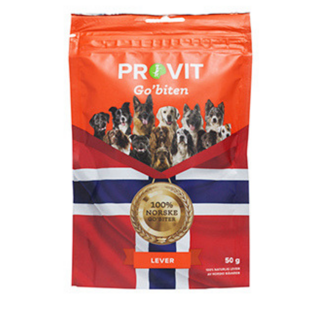"Provit ""Go'biten"" Liver - Freezedried treats"